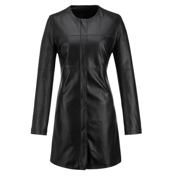 AMISU czarny klasyczny płaszcz w Płaszcze damskie Modne