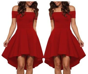 a07c37e64a Piękna czerwona sukienka - Allegro.pl - Więcej niż aukcje. Najlepsze ...