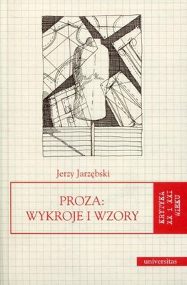 Proza Wykroje i wzory Jarzębski Jerzy