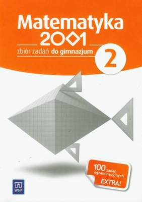 Matematyka 2001 2 zbiór zadań Gimnazjum  Bazyluk A