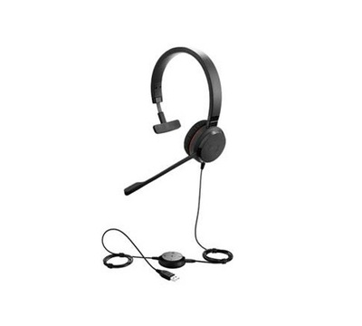 Słuchawki Jabra Evolve 30 II czarny