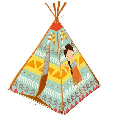 Domek indiański dla dzieci Tipi NAMIOT Wigwam