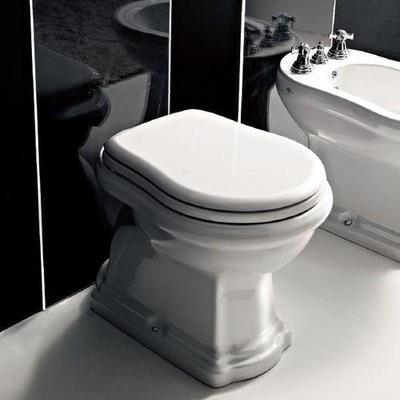 WC misa - WC záchod Kerasan Retro stojí vodorovný odtok