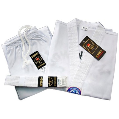 Dobok Taekwondo BUSHINDO Allright 130 cm pás
