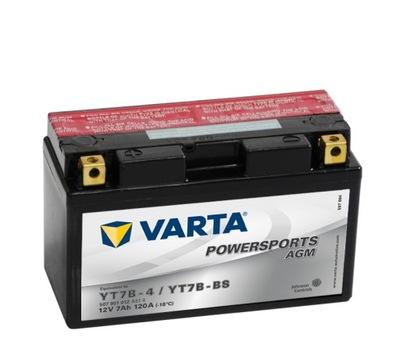 AKUMULATOR Varta YT7B-BS SUZUKI DRZ 400 XC 125