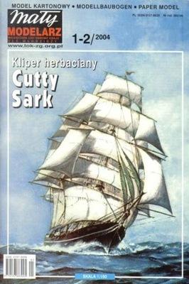 MM 1-2/2004 Kliper herbaciany Cutty Sark