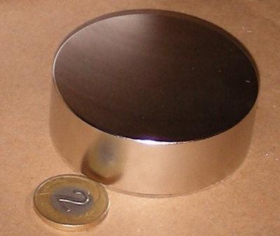 MAGNES NEODYMOWY 55x35 Magnesy neodymowe OKAZJA MW