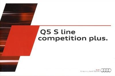 Audi Q5 S Line Competition Plus prospekt 2015