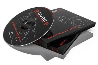 GEOMETRIA WYKREŚLNA na CD - komplet 6 płyt +GRATIS