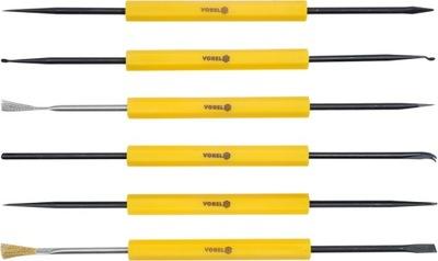 Súprava spájkovacích nástrojov 6cz. 12 tipov