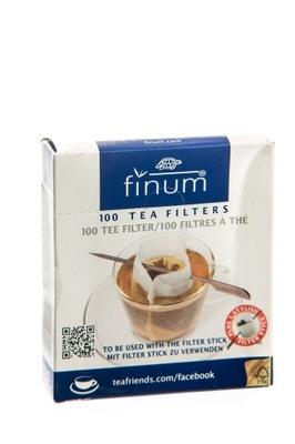 Фильтры бумажные пакеты FINUM (ШИРОКИЕ) с szpadką 100 шт