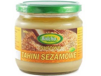 Вкусный паста из кунжута BALCHO Тахини сырое 100 %