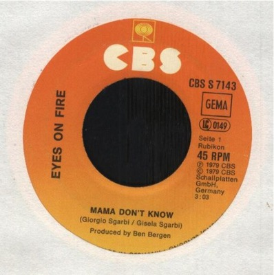 EYES ON FIRE - MAMA DON'T KNOW - JUMPING JACK