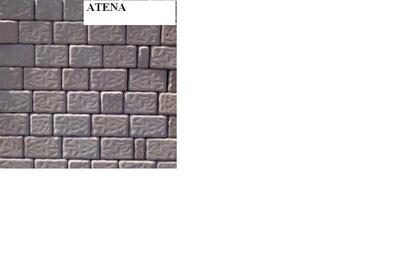 Kostka brukowa Atena, Troja i inne gr.8 cm-POLBRUK