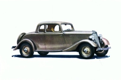 Форд V-8 De Luxe Coupe 1934