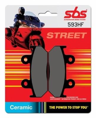 SBS KLOCKI HONDA CBR 400 87-92, VFR 400 86-90