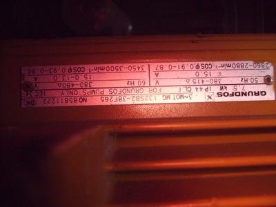 silnik elektryczny 7,5 kw 2990 obr   grundfos