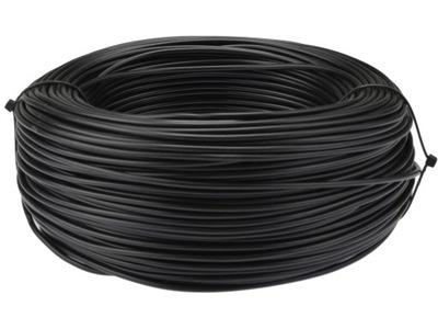 Kábel, drôt, kábel LGY H05V-K 0,75mm2, čierna 100m