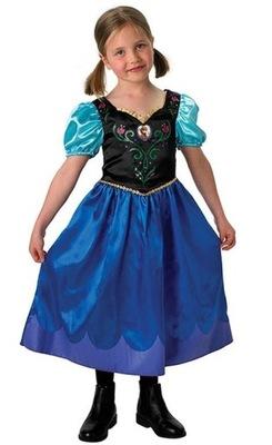 45daac5ab9712b Kostium M Frozen Anna Karnawał Strój Przebranie - 6686979471 ...