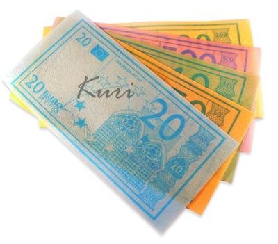 бумага Столовая сладкие вафли Евро банкнот 400 шт