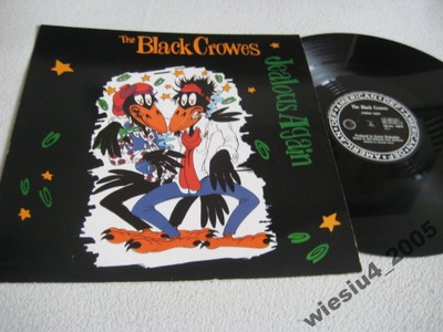 Black Crows-Jealous Again   maxiEP/UK/