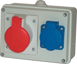 Distribútor Auta RBOX 32A/4p + Gs 230 029