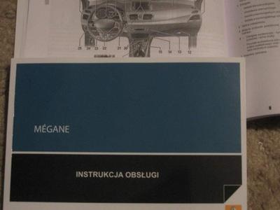 RENAULT MEGANE III instrukcja obsługi polska 2008