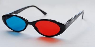 ORYGINALNE okulary 3D Anaglify PHOTO3-D z USA