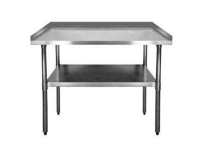 Pracovný stôl, stavebný podstavec -  PRACOVNÁ TABUĽKA 1200mm 3x RANT NEREZ + RACK