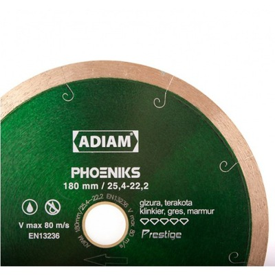 Rezací kotúč - Adiam PHOENIKS 230 mm 25,4-22,2 mm diamantový disk