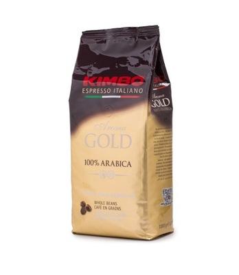 Kawa ziarnista Kimbo Aroma Gold 1kg 100% Arabica
