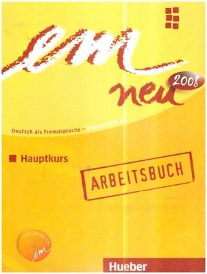 em neu 2008 Hauptkurs Arbeitsbuch+CD NOW Ćwiczenia