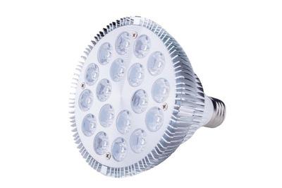 LED RÁSŤ lampa 18W E27 INFRAČERVENÉ infračervené hps biely