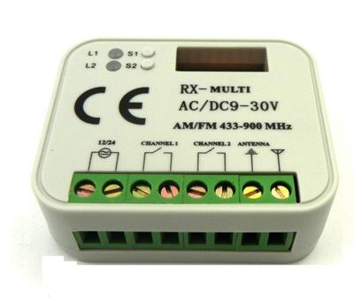 Univerzálny prijímač Pevnosti 300-868 dvb 868 MHz