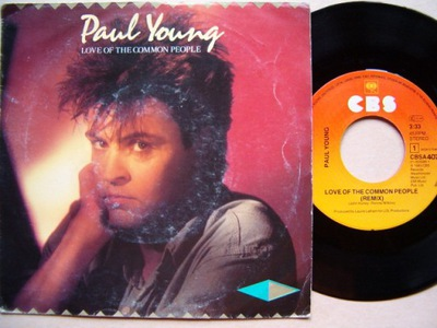 PAUL YOUNG - LOVE OF THE COMMON PEOPLE-BEHIND YOUR