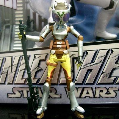 FIGURKA star wars CATO PARASITTI bounty hunter