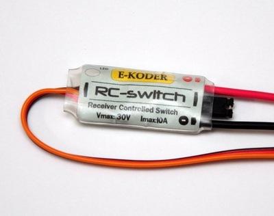 переключатель RC Switch дистанционный 30V 10A сигнал FPV
