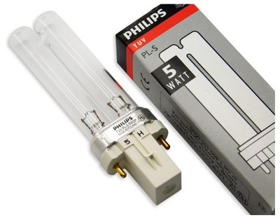 Нити люминесцентная лампа УФC TUV  -S 5W G23 Philips