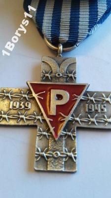 Krzyż Oświęcimski PRL SUPER KOPIA