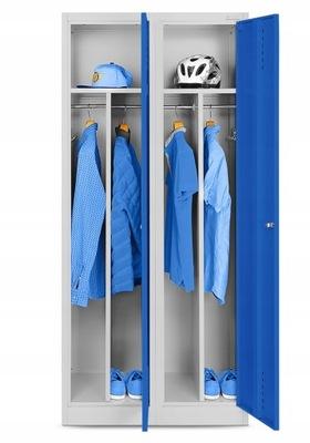 МЕТАЛЛИЧЕСКАЯ шкаф на одежда социальная охране ТРУДА  НОВАК
