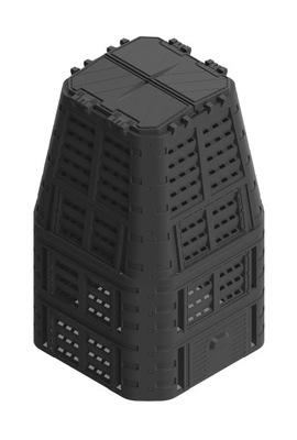 МОРОЗОСТОЙКАЯ Компостер 880L Черный 89x89x146 см