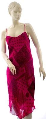 Marks&Spencer asymetryczna sukienka r 40
