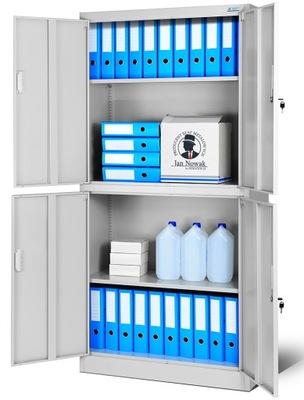 шкаф BHP металлическая aktowa офисная RODO  НОВАК