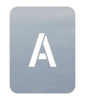 шаблоны малярные знаки 8см Буквы цифры