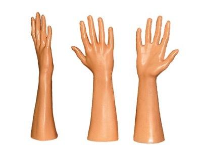 РУКА ПЛАСТИКОВАЯ, МУЖСКАЯ, правая манекен рука от производителя