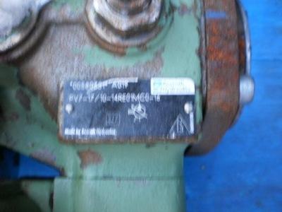 REXROTH PV 7-17 silnik elektryczny pompa oleju