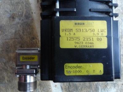 servomotor BERGER LAHR VRDM 5913/50 LWC