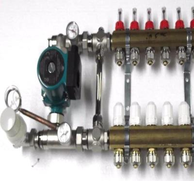 Predné podłogówki 7 čerpadla ventily .600