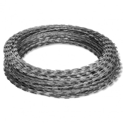 ŻYLETKOWY drôt ostnatý drôt OPLOTENIE koľajové - 100mb