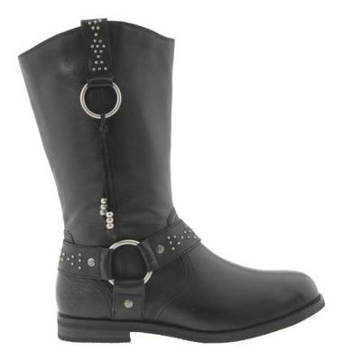 fca22a6ad0f41 buty kowbojki damskie, rozm. 40, NOWE, skóra - 5960784095 ...